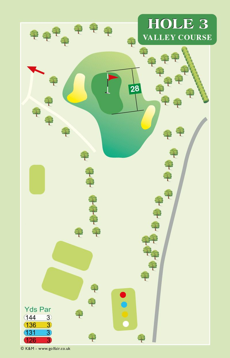 Hole 3 Valley Course