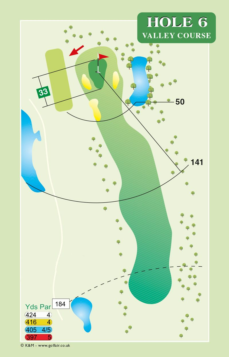Hole 6 Valley Course
